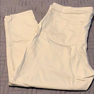 NYDJ khaki Alina jeans 20W